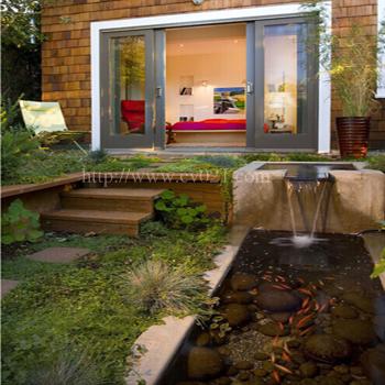 庭院水景绿化景观设计