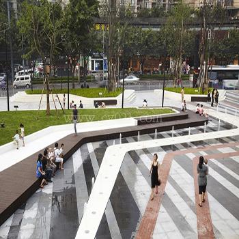 广场地面铺装景观设计